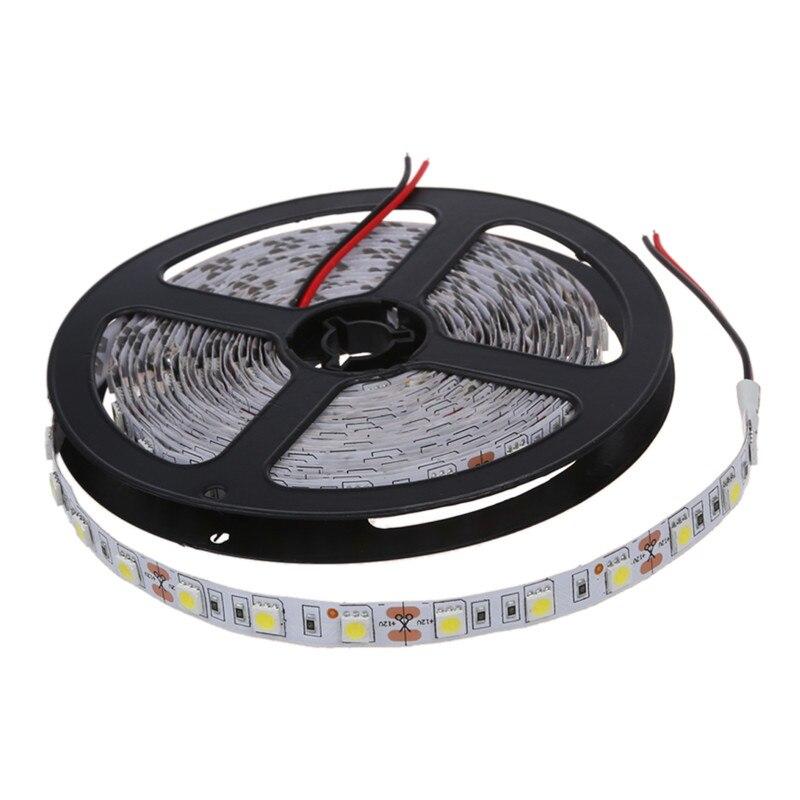 Top-Christmas Lights 300 5050 SMD LED Strip Bar Strip Light Chain 5M 12V DC White