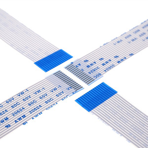 Image 2 - 100 sztuk elastyczny kabel płaski FFC 15 PIN 1.0mm pitch te same kierunki długość 60 70 80 100 120 150 200 250 300 400 450 500 600 700mm