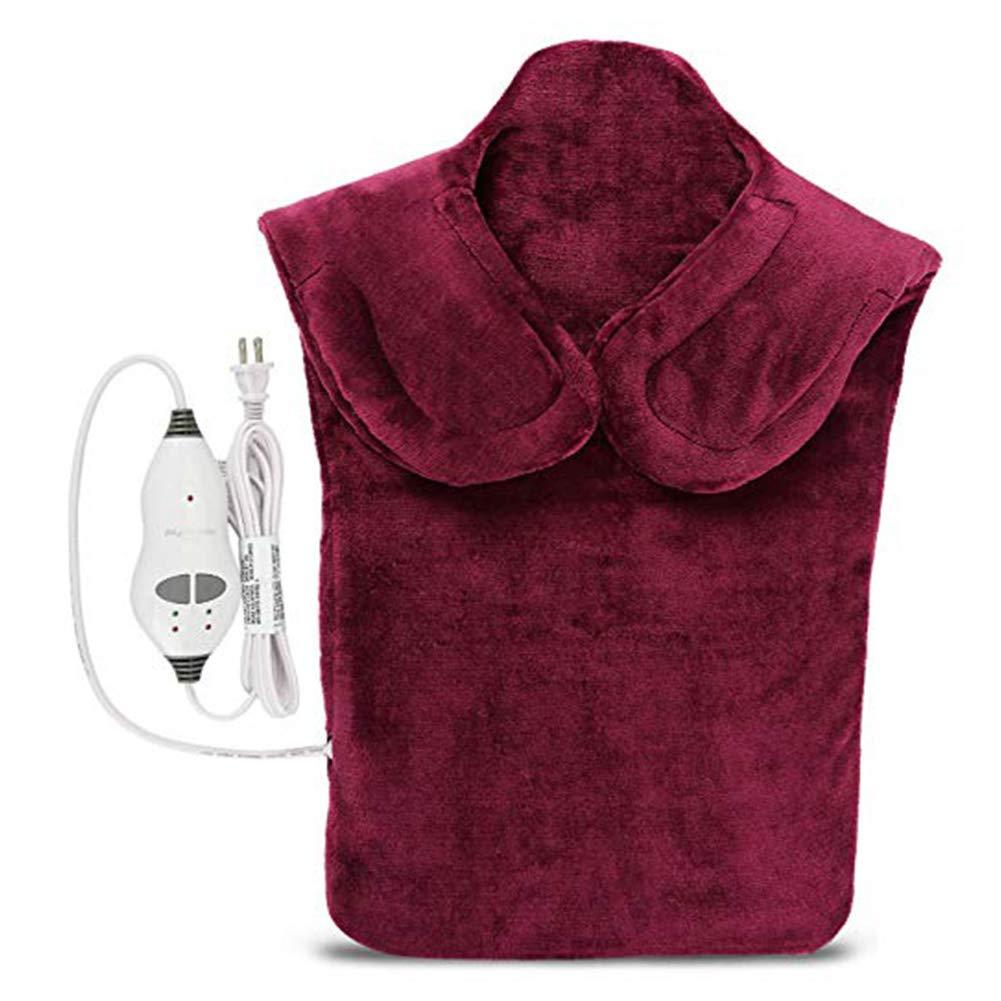 Фланель здоровья рельеф Обёрточная бумага шеи, плеч обратно терапия Мышцы стелька для снятия боли массируя лента термическая бытовой массажер - Цвет: violet