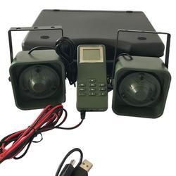 Caza electrónica pájaro llamador BK1518B 2*50W 150dB sonido reproductor de caza productos de caza 200 pájaro voz llamador señuelo de pato