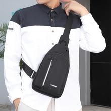 Multifunction Men Shoulder Bags Waterproof Travel Sling One Strap Chest Bag Male Outdoor Casual Crossbody Messenger Bags Bolsas