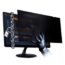 SCREEN-FILTER Monitors Notebook Computer Privacy with Gap for 16:10-Widescreen PC Anti-Glare
