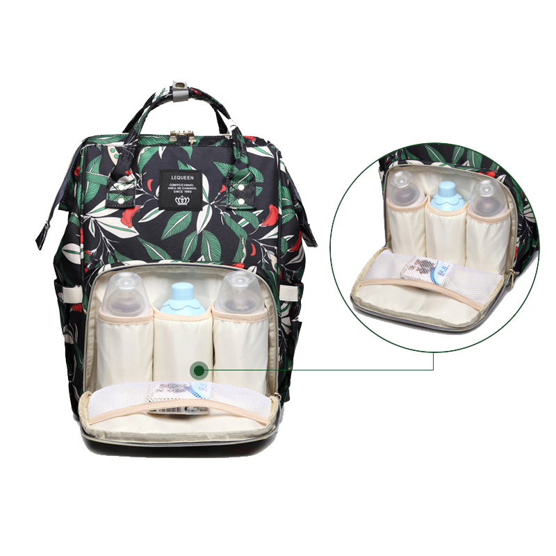 H75a53e5abe9a4a11a0b59eb51fe7c49b9 Diaper Bag Backpack For Moms Waterproof Large Capacity Stroller Diaper Organizer Unicorn Maternity Bags Nappy Changing Baby Bag