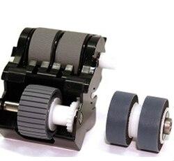 Oryginalny Pick Roller + wałek hamulcowy do CanonDR 4010C DR 6010C 1921B001 (4082B004) MG1 4369 000 MG1 4534 000 w Części drukarki od Komputer i biuro na