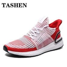 Summer Mesh Running Shoes for Men Ultralight Sport Shoes Jogging Athletic Sneakers Men Cheap Lace-up Trainers Plus Size 39-46 цена в Москве и Питере