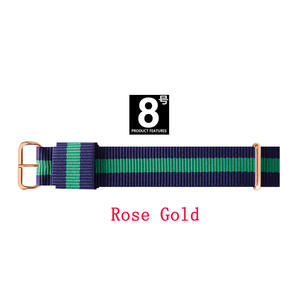 JH daniel wellington 18mm 20mm nylon dw watch strap hight Quality lovers men women unisex watchbands