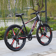 GG 26inch 27.5Inch Electric Mountain Bike LG48V9.6Ah Lithium Battery 350W SENSOR Electric Bike E-BIKE Shinano27s Electronic MTB