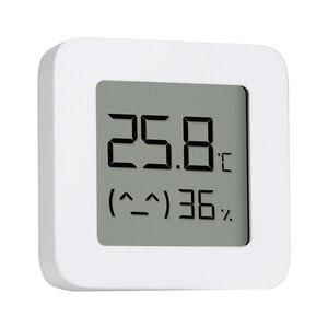 Image 4 - Original Xiaomi Mijia Bluetooth Thermometer 2 Wireless Smart Elektrische Digital Hygrometer Thermometer Arbeit mit Mijia APP