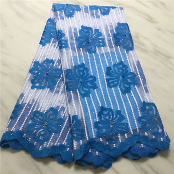 Milk silk Beaded lace Latest African Cord Lace Fabrics High Quality embroidery Nigerian Net tulle Lace Fabric For Wedding dress