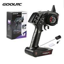 Originale GoolRC Digitale Radio Remote di Controllo del Trasmettitore con Ricevitore per RC Auto Barca TG3 3CH 2.4GHz RC Ricambi Accessori
