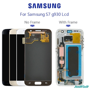 Replacement For SAMSUNG GALAXY S7 G930F G930 G930fd Burn-in shadow LCD Display Touch Screen Digitizer - discount item  5% OFF Mobile Phone Parts