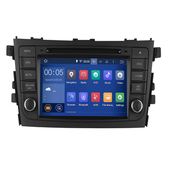 4GB RAM Octa Core Android 10 Car DVD GPS Navigation Multimedia Player Car Stereo for Suzuki Alto Celerio Cultus 2015-2019 Radio image