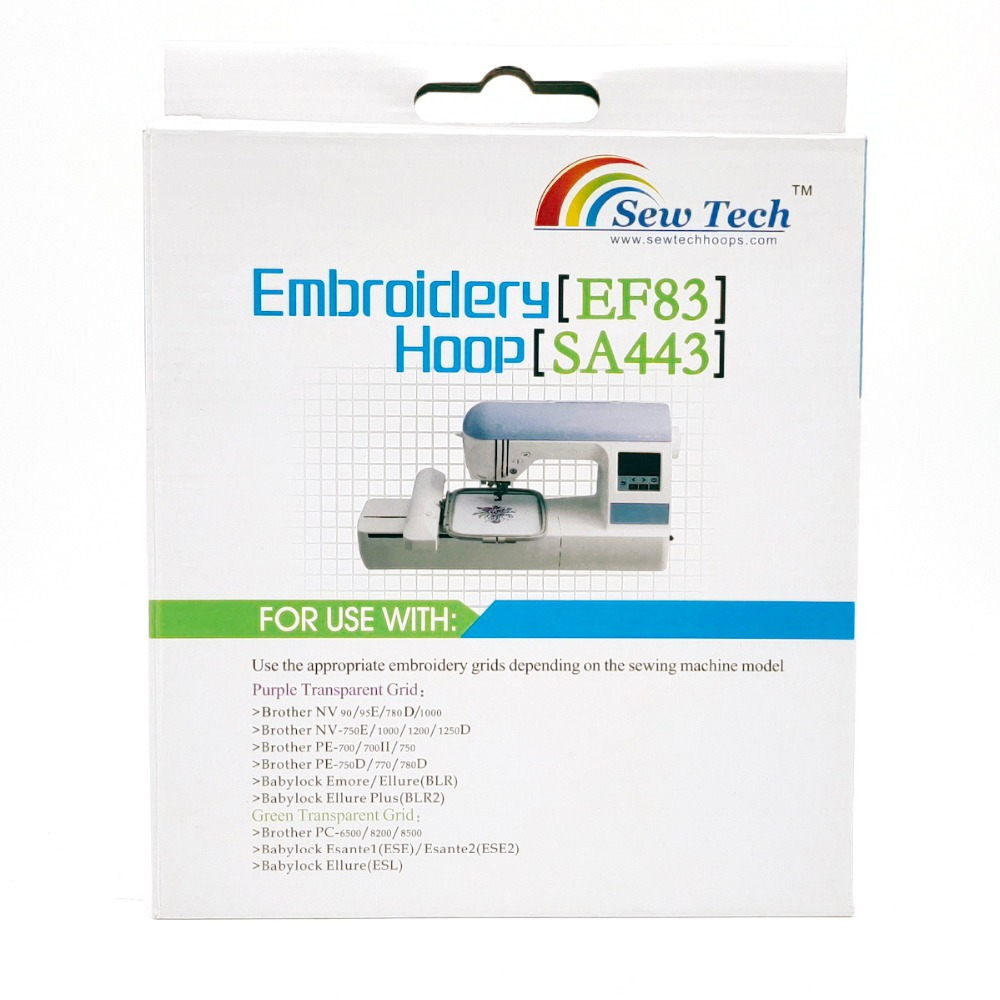 NEW EMBROIDERY MACHINE HOOP FOR Babylock ELLURE PLUS Embroidery Machine /& BOBBIN