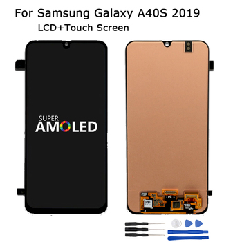 AMOLED LCD For Samsung Galaxy A40S 2019 LCD Display Touch Digitizer Screen Assembly For samsung A40s Screen LCD Display