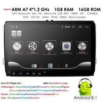 Car DVD player For Seat Altea Leon Toledo volkswagen Passat Skoda Series GPS stereo audio navigation,Android 9.0 2 DIN Redio