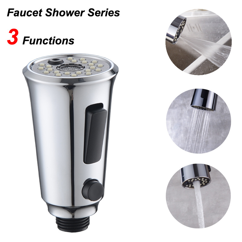 Adjustable 360 Rotate Kitchen Faucet Nozzle Faucet Adapter Self-clean Tap Water Saving Movable Tap Head Kitchen Faucet