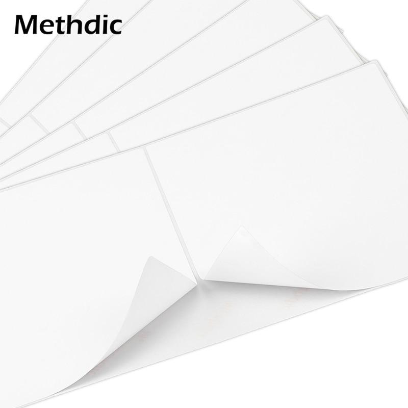 Methdic 150 Sheet/pcs Self Adhesive Mailing Shipping Label Printer