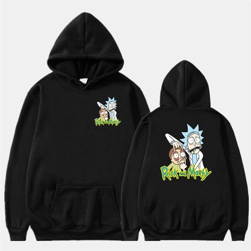 Fashion Hoodie Men Women Sweatshirt Anime Hoodie Rick And Morty Stranger Things Billie Eilish Hoodie Off White Streetwear