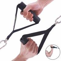 аксессуары для фитнеса Противоскользящая рукоятка для тренажерного зала d-образное кольцо, трос, трос для фитнеса, перекрещивание, трицепна...