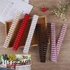 100 5cm DIY Mini Small Fence Barrier Wooden Craft Miniature Fairy Garden Terrarium Doll Branch Palings Showcase Decoration discount