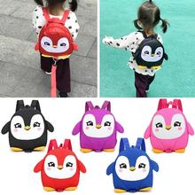 Cartoon Kids Boys Girls Kindergarten School Bags Cute Baby Backpack with Anti Lost Rope for Children Back to School Xmas Gifts rainbow baby 3d model shark kids baby bags waterproof wear resistan with anti lost rope boys girls child s school bags backpack