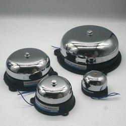 Tradição elétrica sino 2/3/4/6 polegada ac220v alta db alarme sino da porta de alta qualidade escola fábrica sino