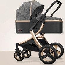 Poussette de luxe Portable 3 en 1 réglable de 8.9Kg, poussette haute pour maman, pour voyage
