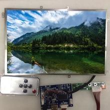 10,1 IPS дисплей 1280*800 HD ЖК-монитор Пульт дистанционного управления плата 2AV HDMI VGA для Lattepanda, Raspberry Pi USB TYPE -C