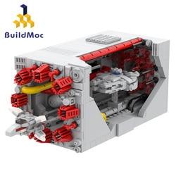Buildmoc Creator Space Rocket Base Shuttle Satellite Set Ideas Station Interstellar mini Spacecraft Building Blocks Toys Gifts