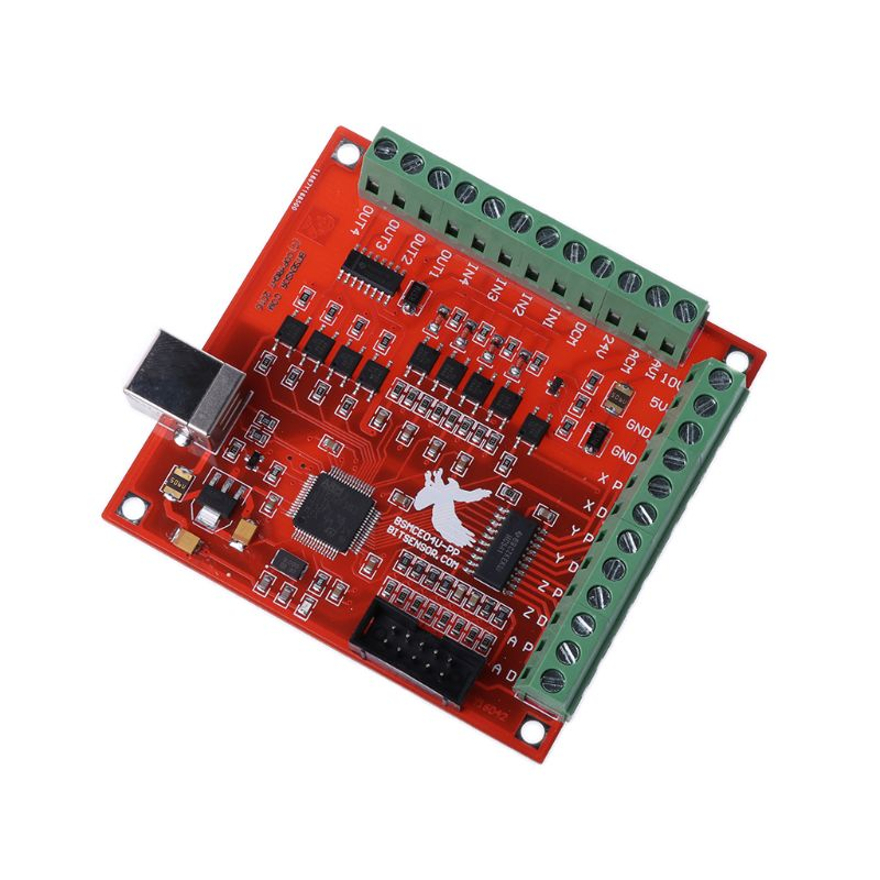 Image 3 - CNC USB MACH3 100Khz Breakout Board 4 Axis Interface Driver Motion Controllerbreakout boardcnc usb mach34 axis -