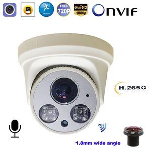 Image 1 - CCTV Wireless Wifi IP Camera 1080P 5MP SONY CMOS 1.8mm wide angle CamHi Motion Detect Onvif Audio Record Surveillance IP Camera