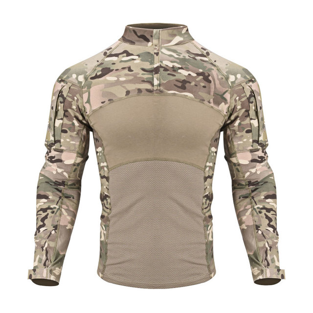 New Men Combat Shirts Proven Tactical Clothing Military Uniform CP Camouflage Airsoft Hunting Army Suit Breathable Work Clothes 2