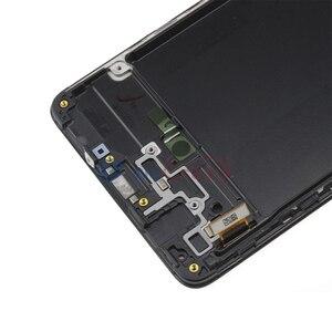 Image 5 - الأصلي AMOLED لسامسونج غالاكسي A71 LCD مع اللمس محول الأرقام الجمعية كاملة A715 A715F A715FD/S عرض 100% اختبارها