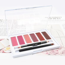 10 Piece Moisturizing Lip Gloss Lip Balm Lip Liner Lip Brush Makeup Set Private Label