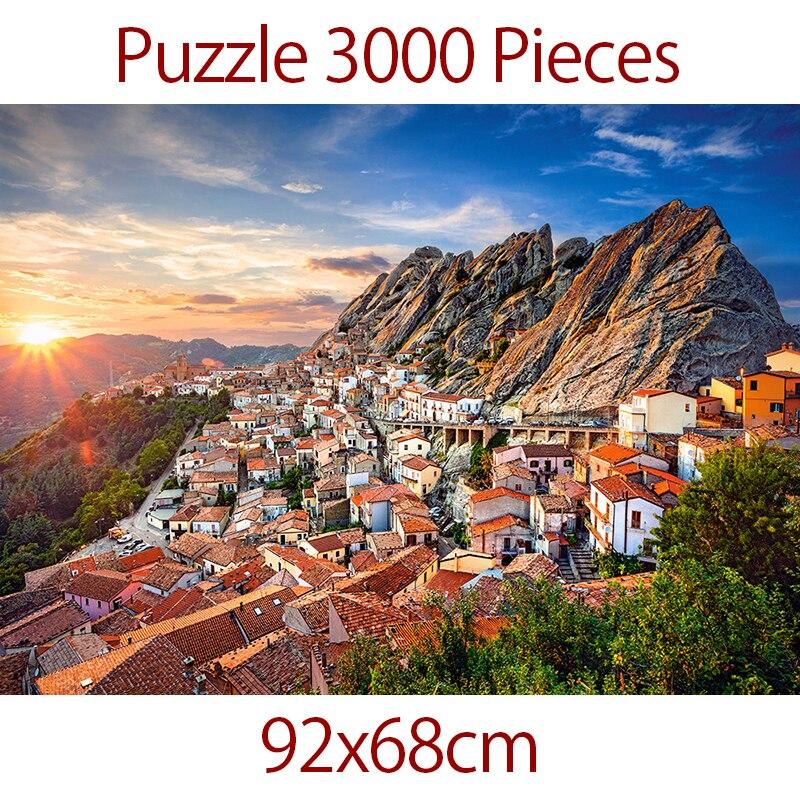 Puzzle 3000 pièces 92x68 cm Puzzle pour adulte shapeng Puzzle enfants jouets cadeau Petrapetosa jouets éducatifs puzzle jeu