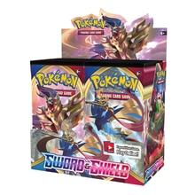 324 pièces/boîte Cartes Pokemon TCG Épée et Bouclier 36 Pack Commercial Jeu Cartes de Collection Jouets