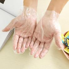 50/100 шт./компл. Еда Пластик перчатки одноразовые перчатки для ресторана Кухня барбекю eco-friendly Еда перчатки для фруктов и овощей, перчатки