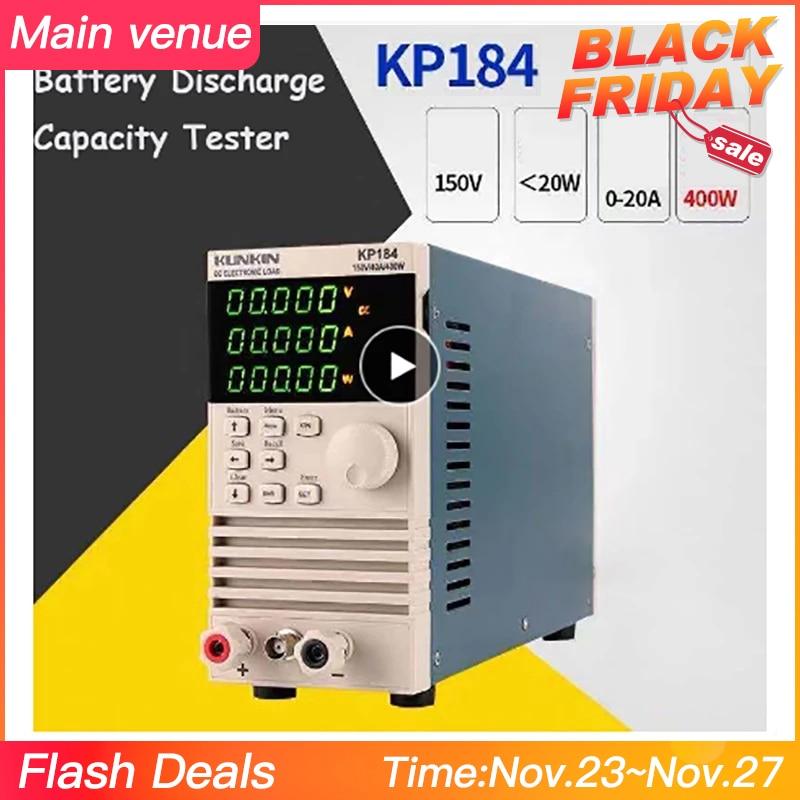 Obliging Kunkin Kp184 Dc Electronic Load Meter 200w / 400w Battery Capacity Tester Power Test Aging Instrument Kp182