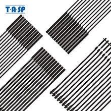 "TASP 48pcs 4"" 105mm Pinned Scroll Saw Blades Wood Cutting for Dremel Moto Saw"