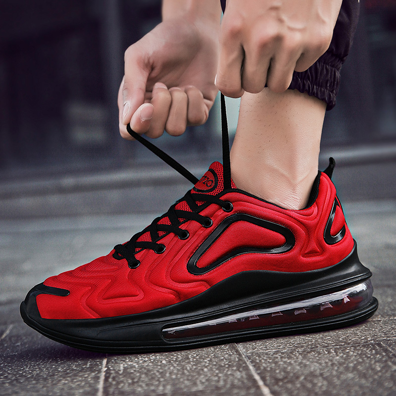 Men's Air Cushion 720 Max Running Jogging Sports Shoes Outdoor Walking Comfortable Breathable Sneakers Male US Size 6.5-11.5 image