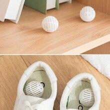 6 шт. дезодорант для обуви Милая таблетка форма сушилка для обуви дезодорант антимикробный углеродный шкаф дезодорант ящик поглотитель влаги