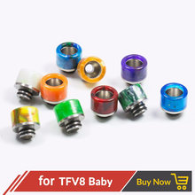 Quartz Banger 1pc Epoxy Resin 510 Drip Tip Mouthpiece for V8 Baby / Kayfun V5 / Taifun GT3 Mini / V8 Big Baby Mouthpiece(China)