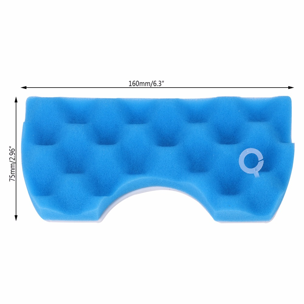 Blue Sponge Hepa Filter Kit for Samsung <font><b>DJ97</b></font>-<font><b>01040C</b></font> SC43 SC44 SC45 SC47 Series Robot Vacuum Cleaner Parts Accessory image