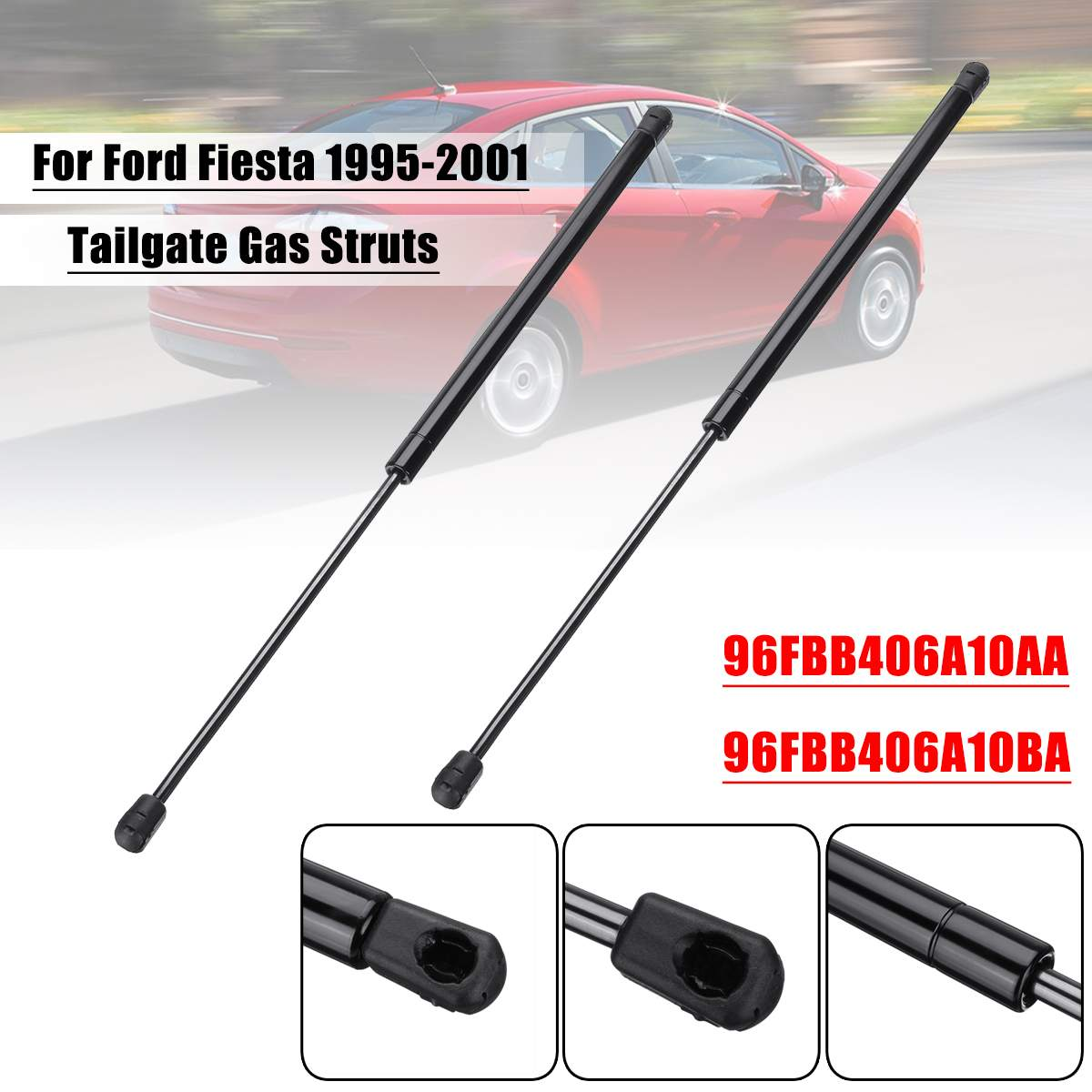 2X Rear Trunk Auto Gas Spring Prop Lift Support For 98-04 Mercedes-Benz SLK320