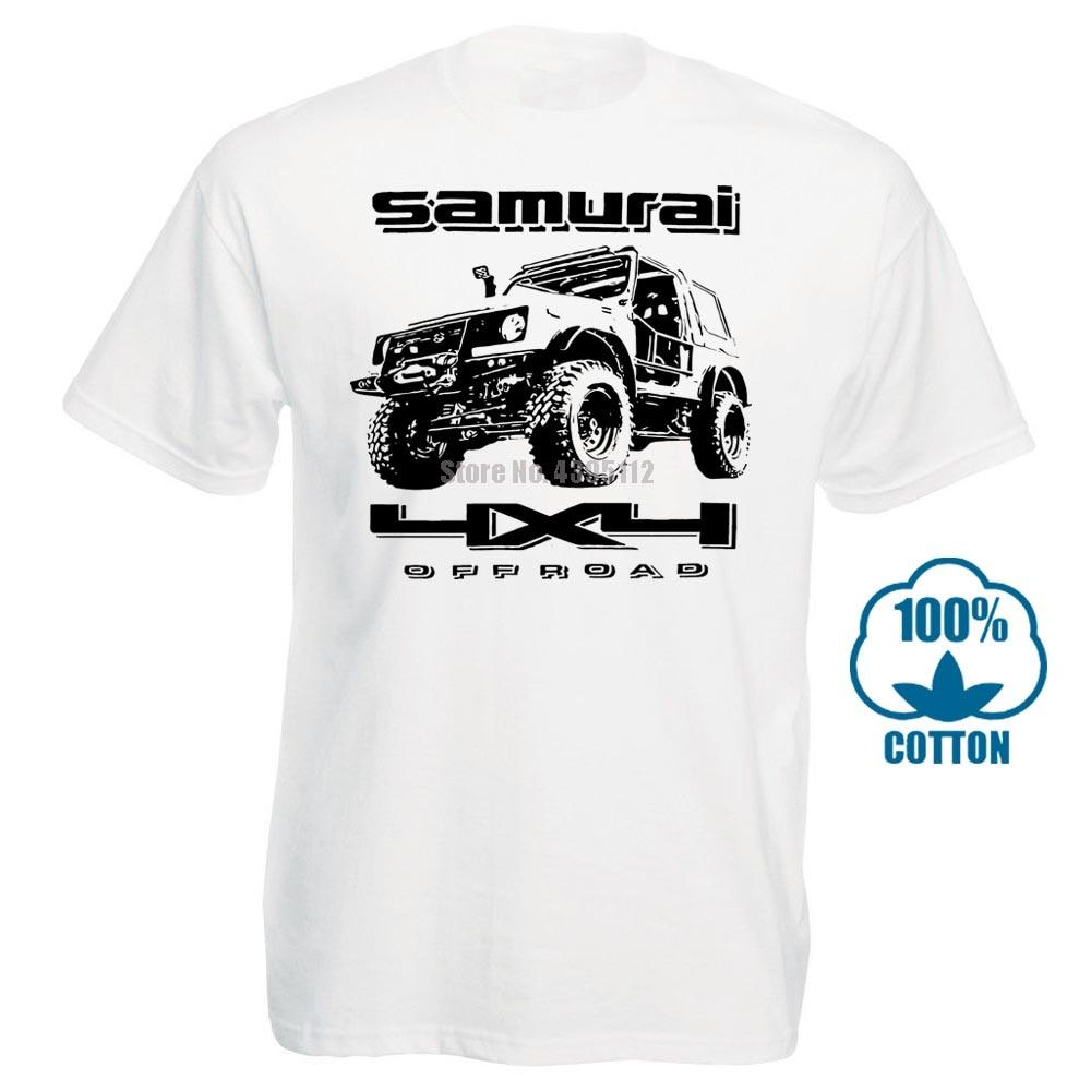 Мужская футболка из мягкого хлопка Suzuki Samurai, модные хлопковые топы, размер S 3Xl