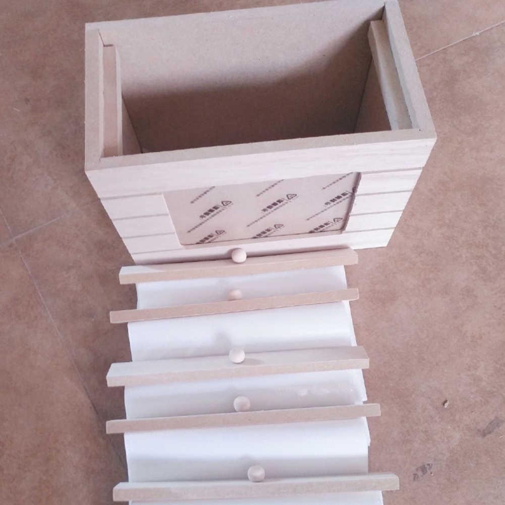 DIY Odorless Picture Album Moisture Proof Home Gift Non Toxic Photo Box Retro Wooden Storage Memory Photograph Decoration
