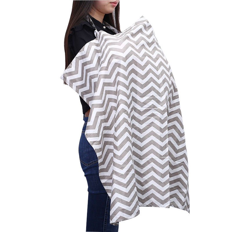 Breathable Breastfeeding Cover Cotton Muslin Privacy Apron Outdoors Feeding Baby Nursing Cloth Nursing Cover Scarf Towel