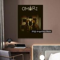 Omori-Póster de Anime para decoración del hogar, imágenes de pared, decoración para dormitorio, estudio, sala de estar, impresiones de pintura