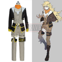 RWBY Season 7 Yellow Trailer Yang Xiao Long Cosplay Costumes Uniform Party Uniform Suit Anime Clothing Custom Made Any Size