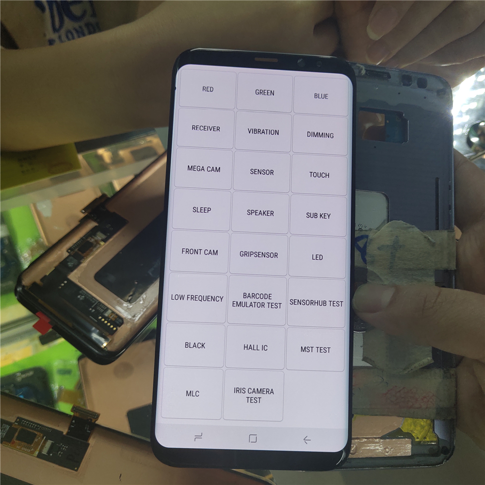 Small Dead Point For Samsung Galaxy S8+ Lcd Display For Samsung S8 Plus G955 G955F G955fd G955F G955 Touch Screen Digitize